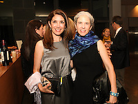 Bobbie Aguero and Victoria Yust attend the Barak Ballet Triple Bill 2015 at The Broad Stage on Feb. 6, 2015 in Santa Monica, CA. (Photo by Inae Bloom/Guest of a Guest)