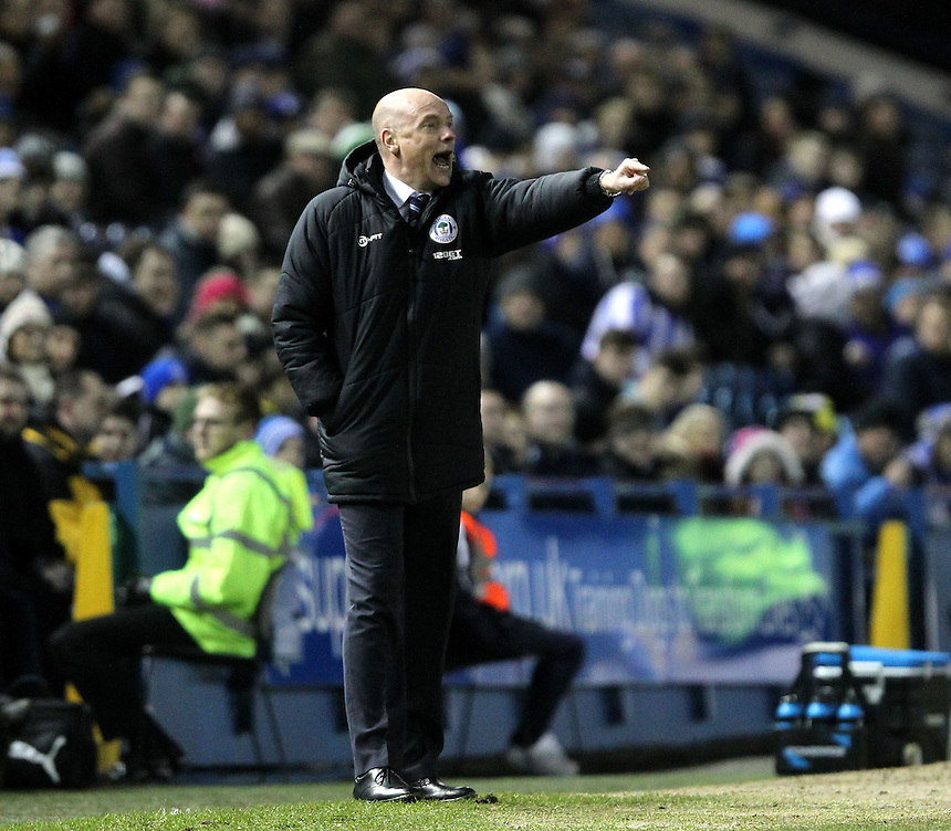 Wigan Athletic's Manager Uwe Rosler<br />