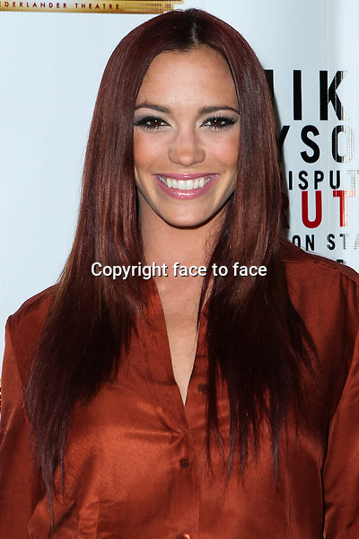 "Jessica Sutta attending the ""Mike Tyson: Undisputed Truth"" Los Angeles Opening Night held at The Pantages Theatre on March 8, 2013 in Hollywood, California. ..Credit: MediaPunch/face to face..- Germany, Austria, Switzerland, Eastern Europe, Australia, UK, USA, Taiwan, Singapore, China, Malaysia and Thailand rights only -"