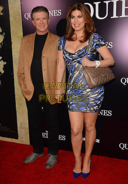 22 April 2014 - Los Angeles, California - Alan Thicke &amp; Tanya Callau. Arrivals for the Los Angeles premiere of &quot;The Quiet Ones&quot; held at the ACE Hotel in Los Angeles, Ca.  <br /> CAP/ADM/BT<br /> &copy;Birdie Thompson/AdMedia/Capital Pictures