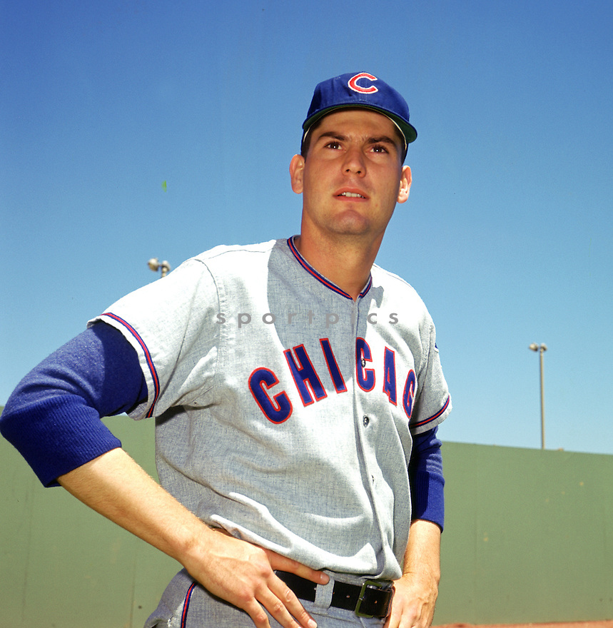 Chicago Cubs Dick Ellsworth (37) portrait before a game from the 1964 season against the New York Mets at Shea Stadium. Dick Ellsworth played 13 years with 5 different teams and was a 1-time All-Star.(SportPics)