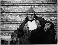 A series of Polaroids documenting a small number of the aging homeless in Dallas, Texas. They were shot using a 1967, 350 Land Camera.
