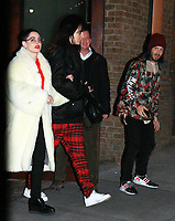 NEW YORK, NY - February 01: Rose McGowan seen leaving her hotel in New York City on her way to The Daily Show With Trevor Noah on February 1, 2018. <br /> CAP/MPI/RW<br /> &copy;RW/MPI/Capital Pictures
