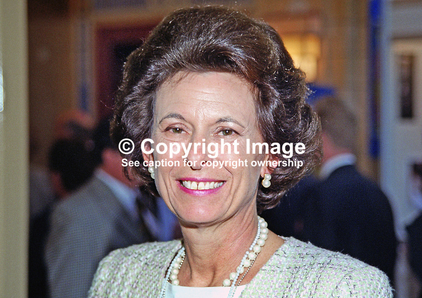 Lady Olga Maitland, former MP, Conservative Party, UK, 199910057.<br />