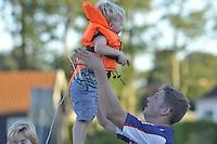 FIERLJEPPEN: IJLST: 24-08-2016, Fierljeppen Fryslân Cup, ©foto Martin de Jong