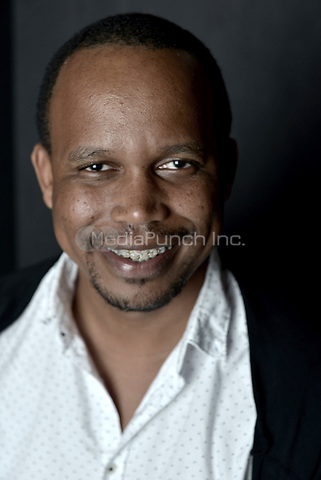 MIAMI BEACH, FL - MARCH 05: Director Kareem Mortimer from the film 'Cargoí poses for a portrait in the Vallerymag.com Portrait Studio during the 2017 Miami Dade Collegeís 34th Miami Film Festival portrait at The Standard Hotel on March 5, 2017 in Miami Beach, Florida. Credit: MPI10 / MediaPunch