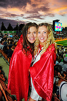 Fans. Day one of the 2018 HSBC World Sevens Series Hamilton at FMG Stadium in Hamilton, New Zealand on Saturday, 3 February 2018. Photo: Dave Lintott / lintottphoto.co.nz