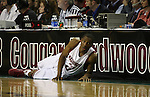 Marcus Capers, Washington State University guard, continues to get significant playing time during his true freshman season for the Cougars.  Here he is shown in action in WSU's annual Seattle game at Key Arena, on December 13, 2008, during the Cougs 70-51 victory over Montana State.