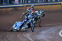 Heat 2 Mateusz Szczepaniak of Poole Pirates during Poole Pirates vs Belle Vue Aces, Elite League Speedway at The Stadium on 11th April 2018
