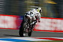 June 25, 2010 - Assen, Holland - French rider Randy De Puniet powers his bike during practices for the Dutch Grand Prix at Assen, Holland, on June 25, 2010. (Photo Andrew Northcott/Nippon News)..