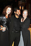 """General Hospital Florencia Lozano (OLTL), Kathleen Chalfant (AMC) and Alfredo Narcisco (played a cop on AMC) stars in """"Red Dog Howls"""" as it opens on September 24, 2012 at New York Theatre Workshop in New York City, New York with the after party at Phebe's.  (Photo by Sue Coflin/Max Photos)"""