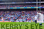 Peter Harte, scores a Penalty  against Kerry in the All Ireland Semi Final at Croke Park on Sunday.
