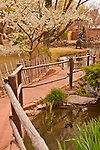 Sculpture Garden at Nedra Matteucci Gallery in Santa Fe, New Mexico