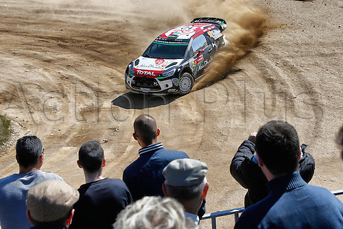 21.05.2015. Lousada, Portugal. Day 1 of the WRC Rally of Portugal.  Khalid Al Qassimi (ABU) and Chris Patersson ( GB) - Citroen DS3 WRC