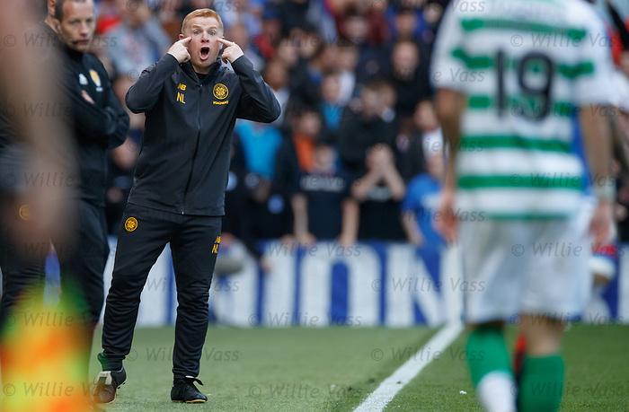 01.09.2019 Rangers v Celtic: Neil Lennon