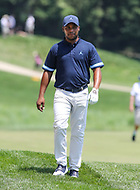 Potomac, MD - June 30, 2018:  Harold Varner III (USA) walks to his ball during Round 3 at the Quicken Loans National Tournament at TPC Potomac in Potomac, MD, June 30, 2018.  (Photo by Elliott Brown/Media Images International)