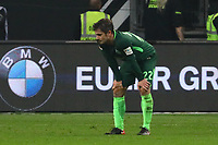 Frust bei Fin Bartels (SV Werder Bremen) - 03.11.2017: Eintracht Frankfurt vs. SV Werder Bremen, Commerzbank Arena
