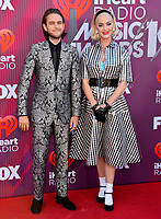 LOS ANGELES, CA. March 14, 2019: Katy Perry & Zedd at the 2019 iHeartRadio Music Awards at the Microsoft Theatre.<br /> Picture: Paul Smith/Featureflash