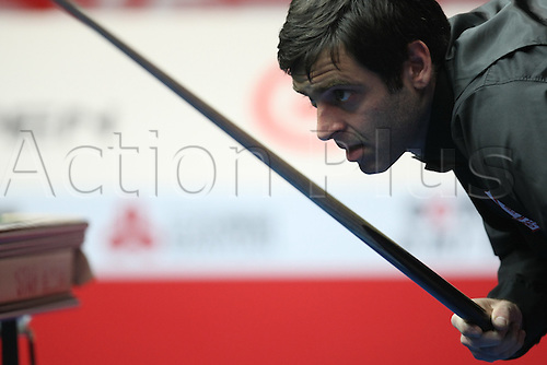 Mar 30, 2011; Beijing, CHINA; Ryan Day defeats Ronnie O'Sullivan 5:2 in the first round at the Bank of Beijing 2011 World Snooker China Open.