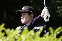 Minkyu Kim (KOR) during the second round of the Hauts de France-Pas de Calais Golf Open played at Aa Saint-Omer GC, Saint- Omer, France. 14/06/2019<br /> Picture: Golffile | Phil Inglis<br /> <br /> <br /> All photo usage must carry mandatory copyright credit (© Golffile | Phil Inglis)