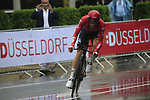 Jurgen Roelandts (BEL) Lotto-Soudal in action during Stage 1, a 14km individual time trial around Dusseldorf, of the 104th edition of the Tour de France 2017, Dusseldorf, Germany. 1st July 2017.<br /> Picture: Eoin Clarke | Cyclefile<br /> <br /> <br /> All photos usage must carry mandatory copyright credit (&copy; Cyclefile | Eoin Clarke)
