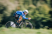 Fabio Felline (ITA/Trek-Segafredo)<br /> <br /> MEN ELITE INDIVIDUAL TIME TRIAL<br /> Hall-Wattens to Innsbruck: 52.5 km<br /> <br /> UCI 2018 Road World Championships<br /> Innsbruck - Tirol / Austria