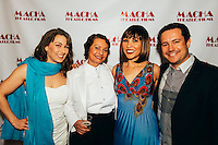 Jacqueline Rae, Odalys Nanin, Chala Savino, and Gary Gunter at The Opening Night of Garbo's Cuban Lover on Dec. 12, 2015 (Photo by Tiffany Chien/Guest Of A Guest)