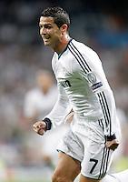Real Madrid's Cristiano Ronaldo during Champions League match. September 18, 2012. (ALTERPHOTOS/Alvaro Hernandez). /NortePhoto.com<br /> <br /> **CREDITO*OBLIGATORIO** *No*Venta*A*Terceros*<br /> *No*Sale*So*third* ***No*Se*Permite*Hacer Archivo***No*Sale*So*third<br /> <br /> <br /> **CREDITO*OBLIGATORIO** *No*Venta*A*Terceros*<br /> *No*Sale*So*third* ***No*Se*Permite*Hacer Archivo***No*Sale*So*third