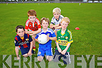 Front, left to right, Sean Murphy, James Dowling, Adam Mulvihill.  Back left to right, Josh Quilter, Kostas Daskalis at the St. Pats  Blennerville Family fun Day on Sunday