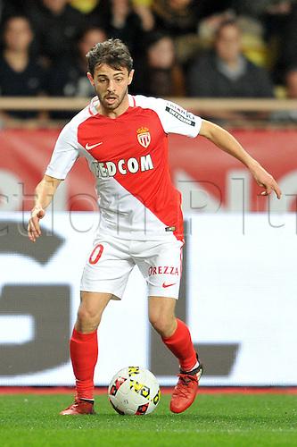 26.11.2016. Monaco, France. French League 1 football. Monaco versus Marseille.  BERNARDO SILVA (asm)