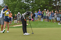 Sung Hyun Park (KOR) bows to the gallery after winning the 2018 KPMG Women's PGA Championship, Kemper Lakes Golf Club, at Kildeer, Illinois, USA. 7/1/2018.<br /> Picture: Golffile | Ken Murray<br /> <br /> All photo usage must carry mandatory copyright credit (&copy; Golffile | Ken Murray)