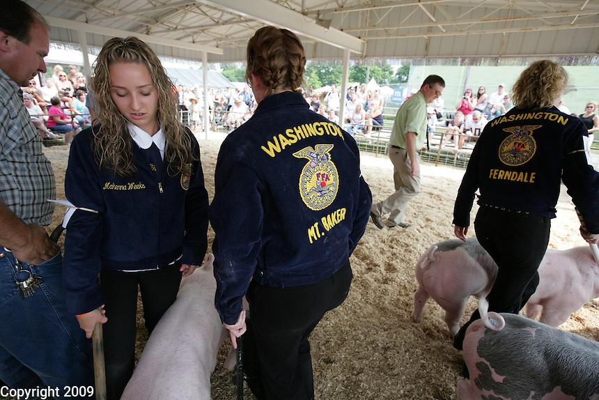 NW Washington Fair. August 16, 2009 PHOTOS BY MERYL SCHENKER