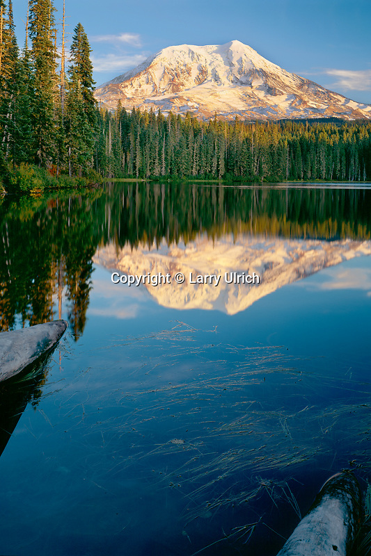 Mt. Adams from Takhlakh Lake<br />