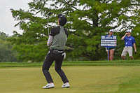 Sung Hyun Park (KOR) reacts to barely missing her birdie putt on 18 to win the 2018 KPMG Women's PGA Championship, Kemper Lakes Golf Club, at Kildeer, Illinois, USA. 7/1/2018.<br /> Picture: Golffile | Ken Murray<br /> <br /> All photo usage must carry mandatory copyright credit (&copy; Golffile | Ken Murray)