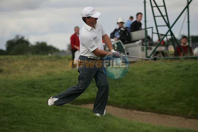 Graeme McDowell on the 17th hole in the final round of the European Open on the 8th of July 2007 at the K Club, Straffan, Co Kildare, Ireland. (Photo by Manus O'Reilly/NEWSFILE)