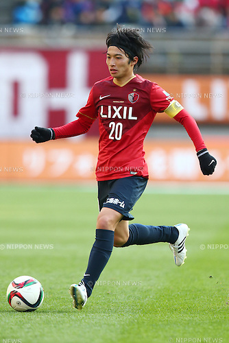 Gaku Shibasaki (Antlers),<br /> MARCH 14, 2015 - Football / Soccer : <br /> 2015 J1 League 1st stage match between<br /> Kashima Antlers 1-2 Shonan Bellmare<br /> at Kashima Soccer Stadium in Ibaraki, Japan.<br /> (Photo by Shingo Ito/AFLO SPORT)