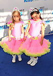 CARSON, CA - MAY 12: Pink Tutu Girls: Sophia Grace & Rosie attend 102.7 KIIS FM's Wango Tango at The Home Depot Center on May 12, 2012 in Carson, California.