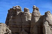 Plaza Blanca, the White Place, is located at Abiquiu New Mexic