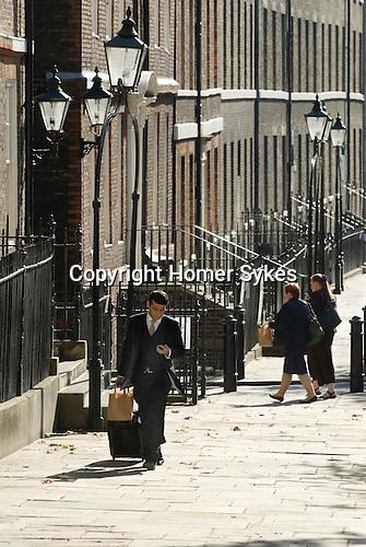 Kings Bench Walk. Inner Temple. Inns of Court London UK