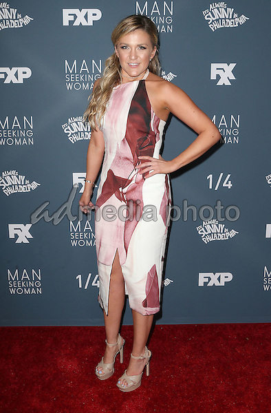 "03 January 2017 - Los Angeles, California - Jessica Lowe. Premiere Of FXX ""It's Always Sunny In Philadelphia"" Season 12 And ""Man Seeking Woman"" Season 3 held at Fox Bruin Theatre. Photo Credit: F. Sadou/AdMedia"