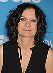 WEST HOLLYWOOD, CA - SEPTEMBER 18: Sara Gilbert arrives at the CBS 2012 fall premiere party at Greystone Manor Supperclub on September 18, 2012 in West Hollywood, California.