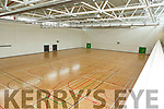 Pictures of one of the Basketball Arena at the new Sports Complex at I T Tralee