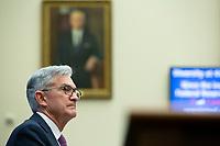 Chair of the Federal Reserve Jerome Powell testifies before the U.S. House Committee on Financial Services at the United States Capitol in Washington D.C., U.S. on Tuesday, February 11, 2020.  <br /> <br /> Credit: Stefani Reynolds / CNP/AdMedia