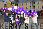 BALLOONS:On Thursday in the Square Tralee a gathering of personel who left off balloons to raise funds for the Domestic Abuse, at Tralee Womens Resource Centre, Ashe Street, Tralee,they were, John O'Sullivan, Dan Galvin, Bernie Moore, Joan Courtney, Linda Maher, Josephine Hassett and Vera O'Leary.