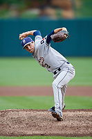 San Antonio Missions relief pitcher Eric Yardley (12) delivers a pitch during a game against the Springfield Cardinals on June 4, 2017 at Hammons Field in Springfield, Missouri.  San Antonio defeated Springfield 6-1.  (Mike Janes/Four Seam Images)