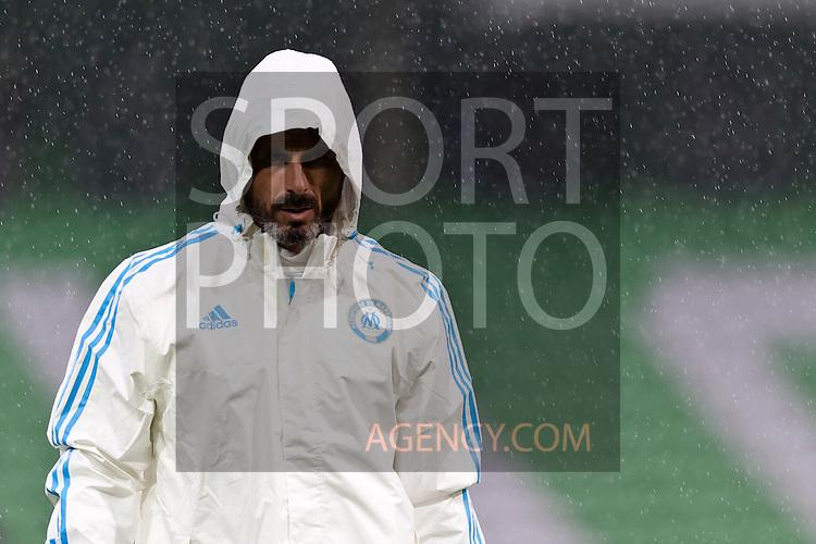 Voetbal: 16-9-2015,UEFA, Fc Groningen vs Olympique de Marseille,training,Rafael Alkorta Martinez assistent coach of Olympique de Marseille