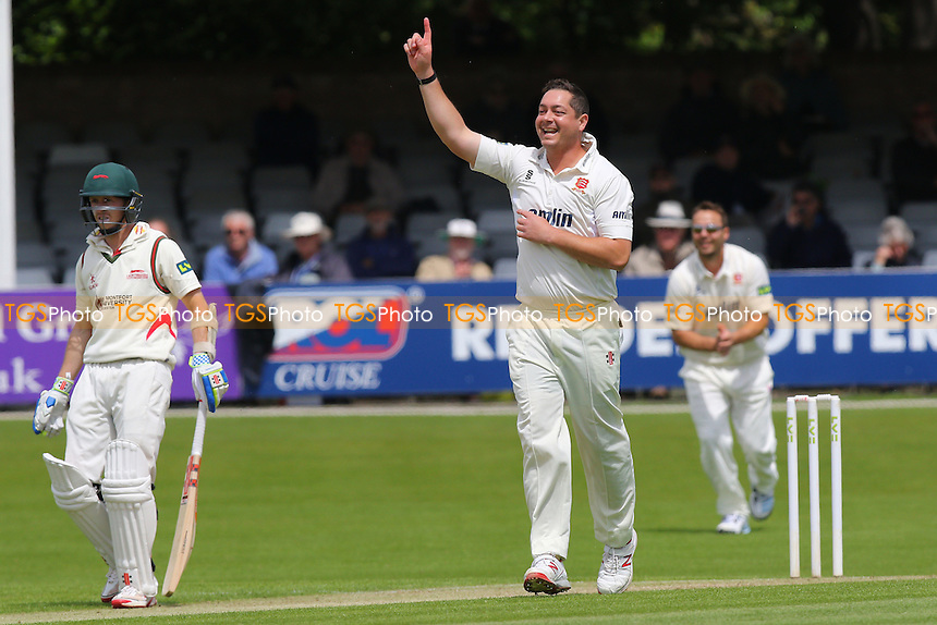 Jesse Ryder of Essex celebrates taking the wicket of Ned Eckersley - Essex CCC vs Leicestershire CCC - LV County Championship Division Two Cricket at the Essex County Ground, Chelmsford, Essex - 01/06/15 - MANDATORY CREDIT: Gavin Ellis/TGSPHOTO - Self billing applies where appropriate - contact@tgsphoto.co.uk - NO UNPAID USE