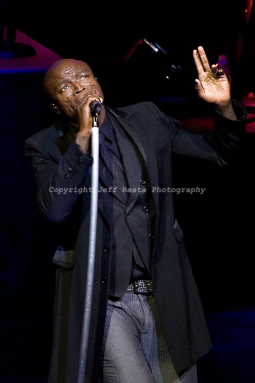 Seal live in concert at Nokia Theatre on April 28, 2009 in Dallas, TX.  This was my first big concert to shoot.