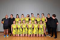 Central Manawa Beko Team Photo at Te Rauparaha Porirua, New Zealand on Thursday 9 May 2019. <br /> Photo by Masanori Udagawa. <br /> www.photowellington.photoshelter.com