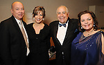 From left: Dr. Steve Head, Linda Head, Dr. William Flores and Noel Bezette-Flores at Celebrating 40 Years: University of Houston- Downtown Gala at the JW Marriott Downtown Friday Jan. 23,2015.(Dave Rossman For the Chronicle)